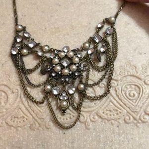 """Vintage Chandelier Necklace 4"""" extender"""